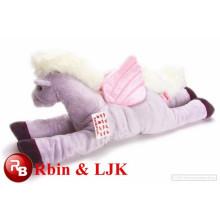 playful plush rocking horse happy horse plush toys