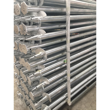 Tyskland Ground Screws Pile Foundation