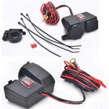 12V 2.1 Waterproof Motorcycle Scooter USB Cigarette Lighter Power Outlet Socket