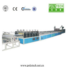 High Production /12mm-14mm Plastic Twin-Wall Hollow Roofing Sheet Co-Extrusion Line