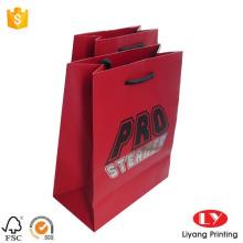 Kundenspezifische Schmuck-Papiergeschenk-Tasche mit Griff