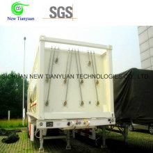 9 Jumbo Cylinders CNG Природный газ Контейнерный трейлер