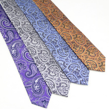 Chinese Ties Supplier Mens Wholesale Paisley Necktie