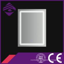 Miroir de bord de Chamfer de salle de bains de rectangle de LED avec l'écran tactile