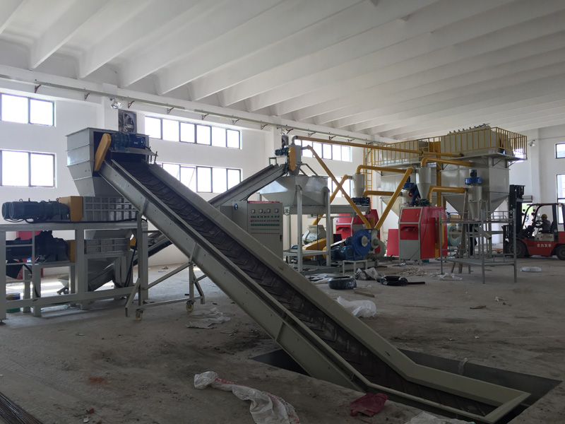 pcb recycling line