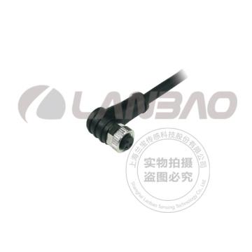 Lanbao M8 Stecker Kabel, Buchse, 4 Pins, PVC Kabel
