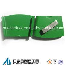 Один сегмент конкретные металла алмазного шлифовального диска
