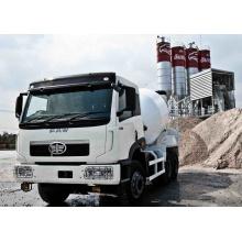 El camión hormigonera Jiefang 6X4 336HP 6m3 Faw