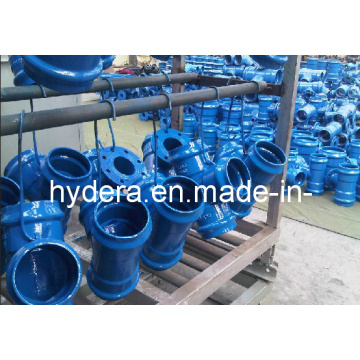 Vortex Ductile Iron Fitting for PVC Pipe