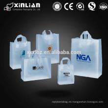 Bolsas de plástico de impresión personalizada LDPE