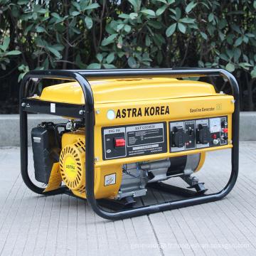 BISON (CHINA) AST3700 Prix d'usine du générateur Astra Korea avec bon prix, manuel générateur d'essence astra korea