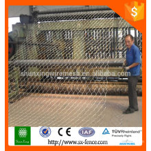 Supply galvanized or PVC coated hexagonal wire mesh/hexagonal wire netting /chicken mesh with best price