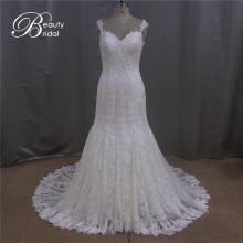 Сексуальные кружева платье невесты U-обратно