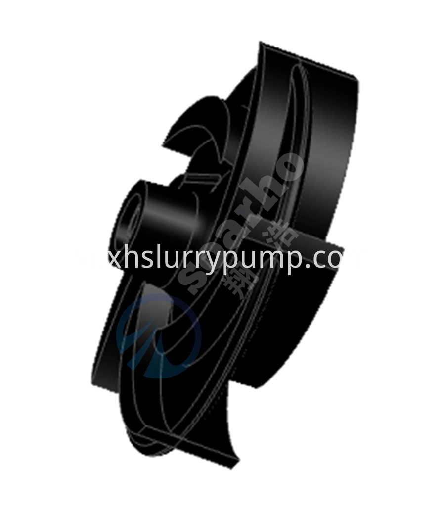 Long Shaft Rubber Lined Pump