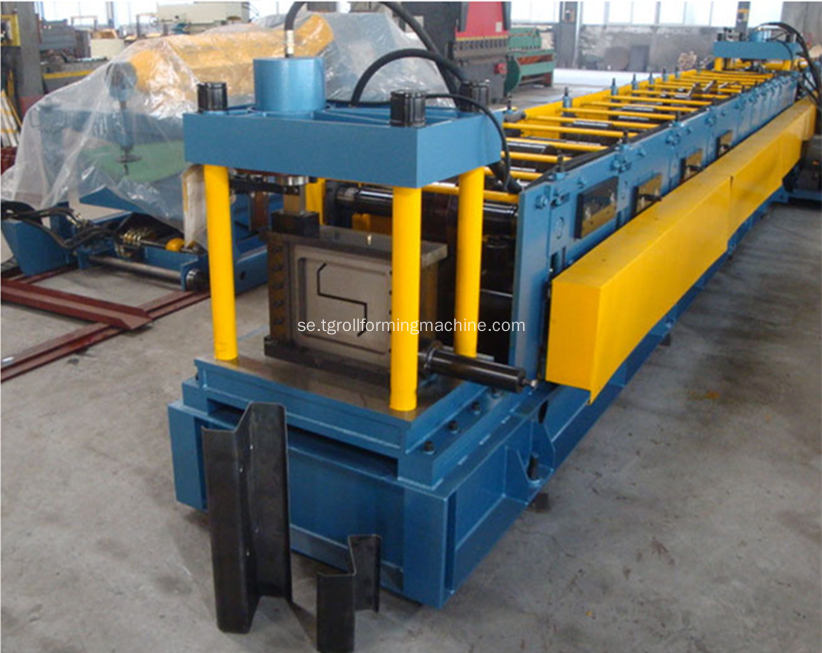 Automatisk Z Purlin Roll Forming Machine
