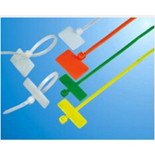 UL Plastic Marker Cable Tie, Red, Blue, Orange Color