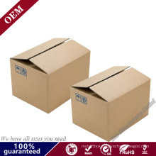 Cheap Recycled Corrugated Ecommerce Custom Shipping Carton Packaging Kraft Natural Insert Subscription Gift Postal Package Box