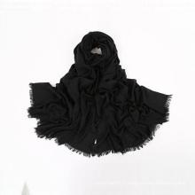 Usine vente foulards de conception personnalisée foulards en laine écharpe