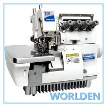 WD-700-5W Super alta velocidade cinco Thread agulha larga Gage máquina