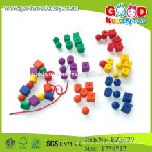 Miúdos diy beads colorido diy brinquedos diy brinquedos de madeira