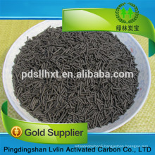 coal-based 4mm industral waste gas treatment columnar activated carbon