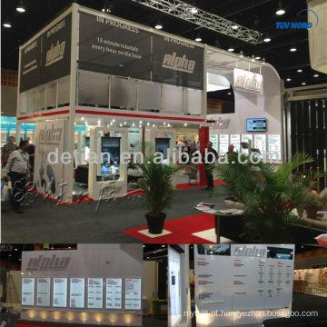 2013 stand de exposição de dois andares do expositor de exposições Shanghai Detian para Expo Stand em Gold Coast
