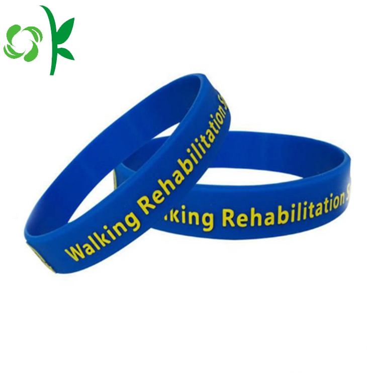 Embossed Power Silicone Wristbands