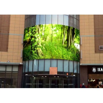 Full Color High Gray Scale Curved LED Display