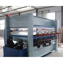 Hot Press Holz Puzzle Maschine mit Doppel-Schichten