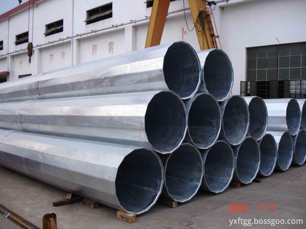 Electric Steel pole