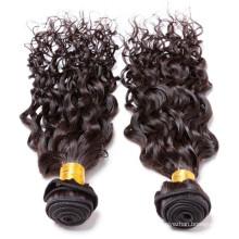 Топ продажа дешевых перуанский вьющихся волос ткать бренды