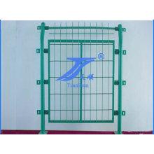 Venda quente China Anping boa qualidade anti-corrosão PVC revestido quadro tubo cerca do engranzamento de fio de Metal