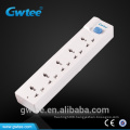 10A 2500W electric outlet with independent switch