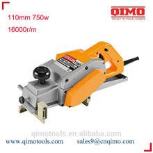Máquina de plaina de madeira 82mm 500w 16000rpm qimo ferramentas eléctricas