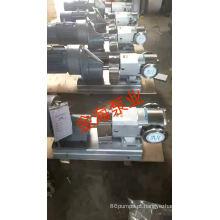 Bomba de engrenagem de rotor de aço inoxidável para líquido de alta viscosidade