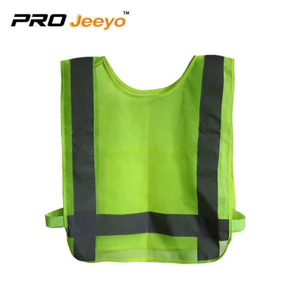 Reflective Hexagon Mesh Breathable Running Vest Svr Bx001