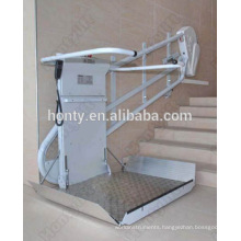 disabled access vertical inclined platform lift low rise