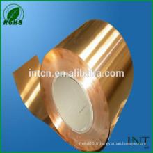 Alliage de cuivre phosphoreux CuSn6