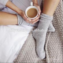 cashmere manufacturer 100% cashmere knitted bed socks