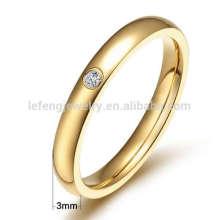 Titanium gold wedding rings,thin titanium ring jewelry