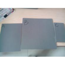 Placa de sinal de PVC, PVC Material placa de espuma de pvc cor preta e transparente