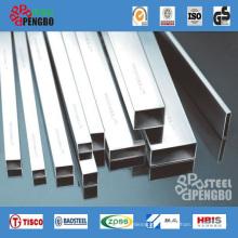 304 Stainless Steel Square Tube for Handrail