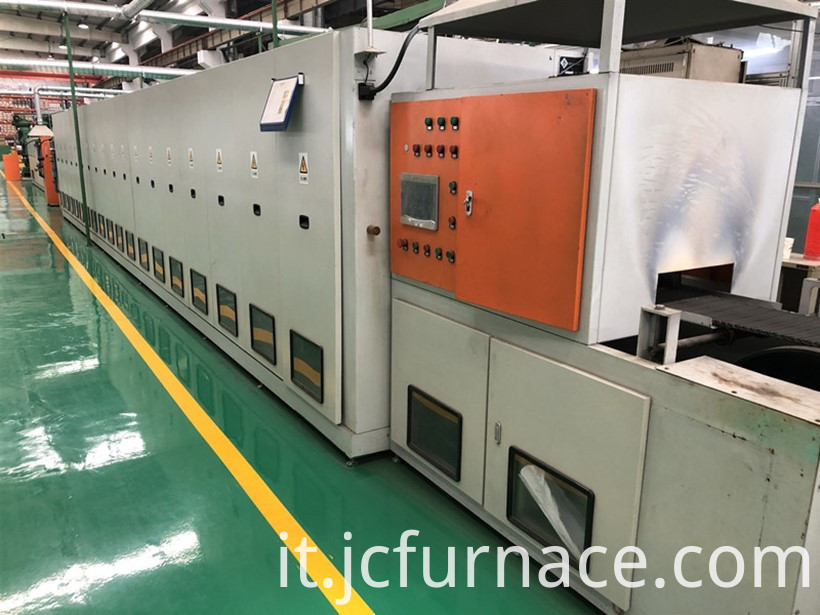New type net belt annealing furnace show