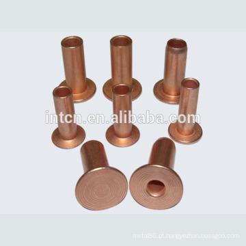 Fonte da fábrica de rebite oco de cobre de boa qualidade