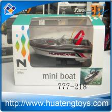 Neueste 4ch Radio Fernbedienung Mini Rc Boot Modell 4colors Rennboot 777-218