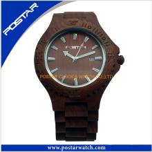 Reloj de encargo al por mayor de alta calidad de los relojes de madera del proveedor de China