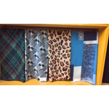 Jacquard Woolen Faux Fur