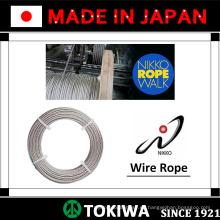 De acero de alta calidad y alambre de acero inoxidable de NIKKOSEIKO, con excelente resistencia a la abrasión (cable de cruz de cables)
