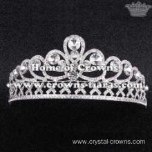 Wholesale Wedding Queen Crowns With Clear Diamonds