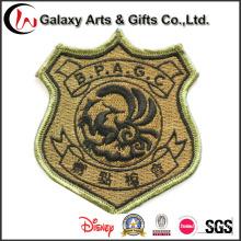 O melhor bordado feito sob encomenda dos remendos do revestimento de Jean do logotipo da qualidade